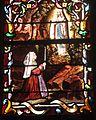 Saint-Thibault Vitrail Lourdes Bernadette.JPG