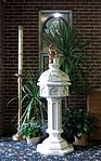 Saint Anthony Catholic Church (Temperance, MI) - baptismal font.jpg