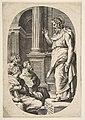 Saint Paul Preaching, an oval composition MET DP812420.jpg