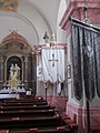 Saints Peter and Paul church. Listed ID 6916. Flags. - Kossuth St., Budajenő, Hungary.JPG