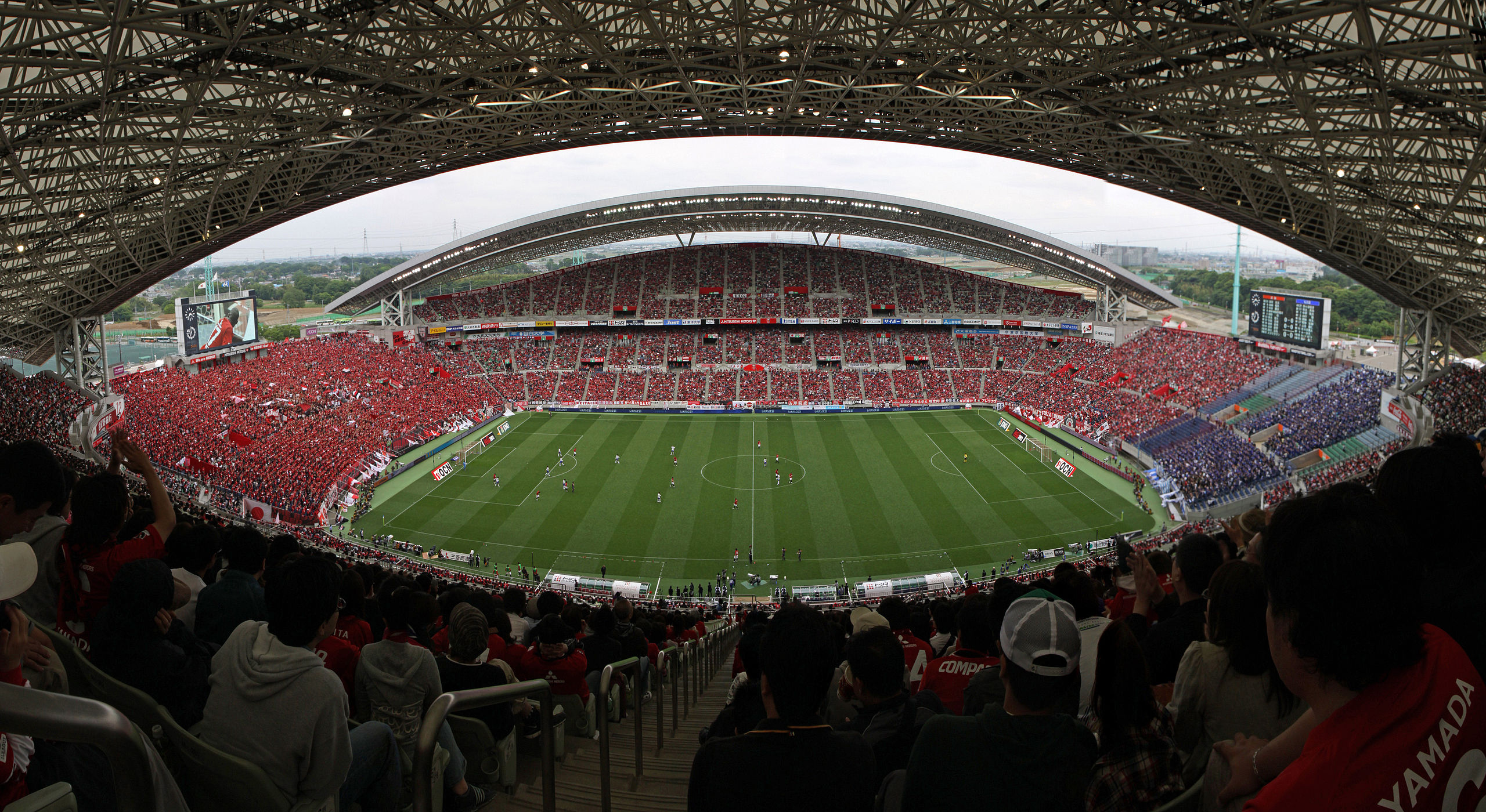 Saitama Stadium Panorama