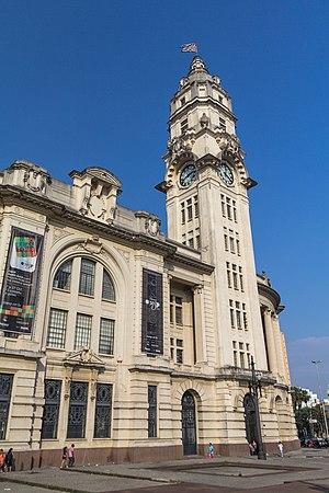Estação Júlio Prestes - Image: Sala cultural Sao Paulo,estaçao Julio Prestes,Antiga Sorocabana,Sao Paulo,Brasil. 03