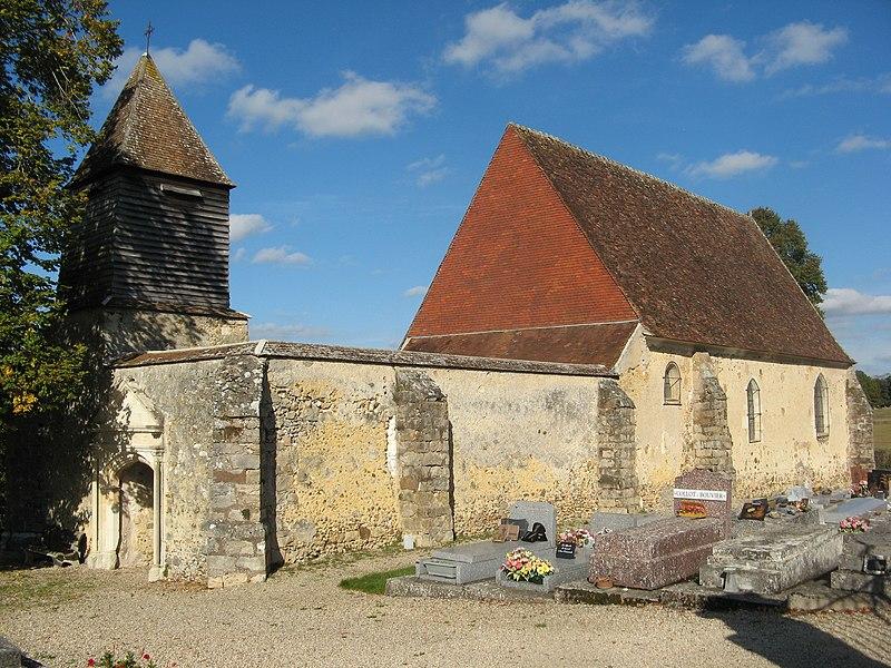 Saligny (Yonne): église