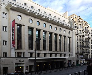 Salle Pleyel - Image: Salle Pleyel P1000321