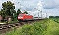 Salzbergen DB 101 123 met IC 143 Amsterdam Centraal - Berlin Hbf (30453964993).jpg