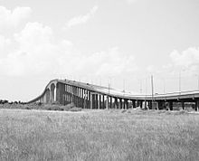 Sam Houston Tollway Ship Channel Bridge 0804091506BW.jpg
