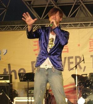 Sam Lee (singer) - Image: Sam Sheng jie Lee at TYD 2008