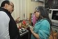 Samarendra Kumar Demonstrating 3D Print To Shefali Shah - NCSM HQ - Kolkata 2017-12-14 6457.JPG