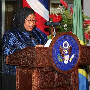 Vice-President of Tanzania - Image: Samia Suluhu Hassan