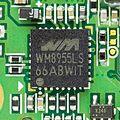 Samsung SGH-X660 - Wolfson WM8955LS-2432.jpg