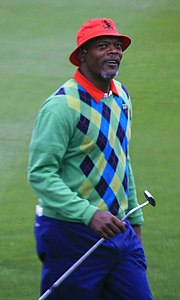 Samuel L. Jackson at the 2006 AT&T Pebble Beach National Pro-Am