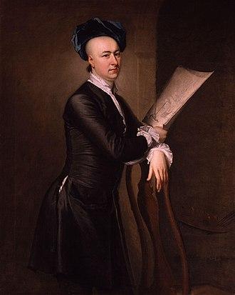 Samuel Scott (painter) - Portrait of Scott by Thomas Hudson