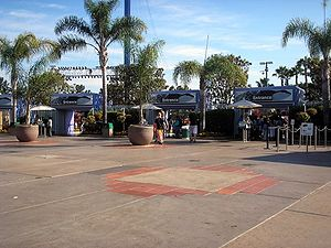 SeaWorld San Diego - Previous entrance replaced by Explorer's Reef on March 21, 2014.