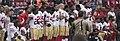 San Francisco 49ers National Anthem Kneeling (37050901343).jpg