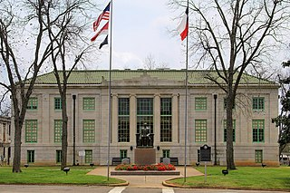 San Augustine County Courthouse and Jail United States historic place