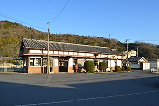 Sanagu Station Railway station in Iga, Mie Prefecture, Japan