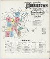 Sanborn Fire Insurance Map from Morristown, Morris County, New Jersey. LOC sanborn05559 003-1.jpg