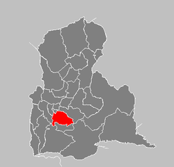 Location of San Cristóbal