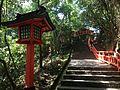 Sando between Upper Shrine and Lower Shrine of Usa Shrine 2.JPG