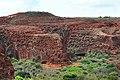Sandstone cliffs -Bahia - Brazil-17Dec2007b.jpg
