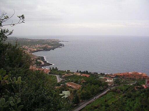 Santa Tecla coast