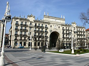Banco Santander - Headquarters of Banco Santander in Santander, Spain