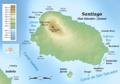 Santiago (Galapagos) topographic map-de.png