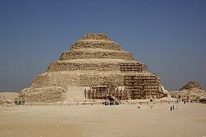 Ägypten, Sakkara, Stufenpyramide