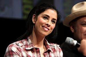 Sarah Silverman - Silverman at the 2013 San Diego Comic-Con International