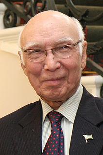 Sartaj Aziz Member of the Senate of Pakistan