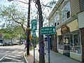 Sayville South Main Street Business District Sign.JPG