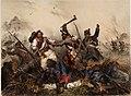 Scene from the Battle of Bodrogkeresztúr 23 January 1849.jpg