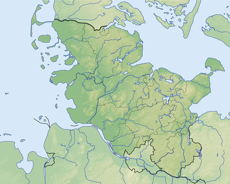 File Schleswig Holstein Relief Location Map Jpg Wikimedia Commons