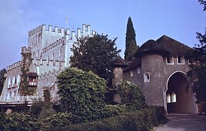 Itter Castle - Entrance, July 1979