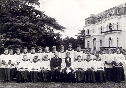 Lambrook School choir in the 1960s, a typical school choir School choir.jpg