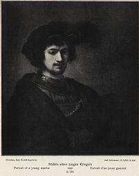 School of Rembrandt - Portrait of a Young Warrior - Dresden.jpg