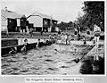 Schoolchildren frolicking in the pool at Kingaroy State School (29596314232).jpg