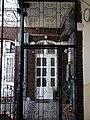 Schossberger house (1886). Wrought iron. - 1 Teréz Boulevard, Budapest.JPG