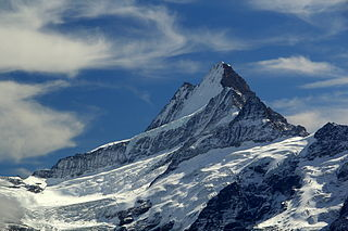 mountain in the Bernese Alps