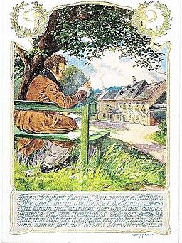 SchubertLiederPostkarte(Feith1920)