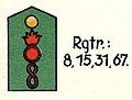 Schulterstück der preußischen Feldartillerie-Regimenter (grün).jpg