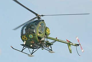 Hughes TH-55 Osage Piston-powered light training helicopter produced for the United States Army
