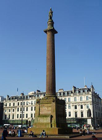 John Greenshields - Scott Monument, Glasgow