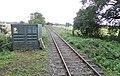 Scruton railway station looking east, Wensleydale Railway, Yorkshire.jpg