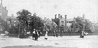 Endeavour Learning and Skills Centre - Sculcoates Union Workhouse from Beverley Road (c.1913)