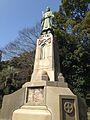 Sculpture of Shimazu Nariakira near Terukuni Shrine.jpg