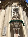 Sculpture of St Augustine, Church of St Augustine, Valletta, June 2018.jpg
