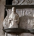 Scuola dell'amadeo, monumento funebre del conte guido castiglioni, 1485, 05 san francesco.jpg