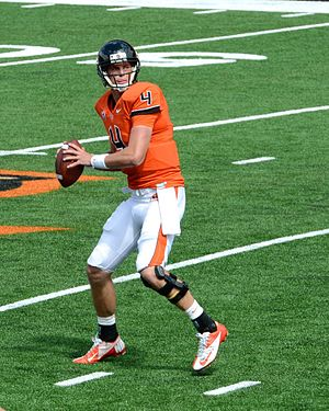 Sean Mannion (American football) - Mannion at Oregon State in 2012