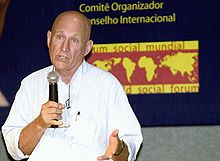 Sebastião Salgado at World Social Forum 2003